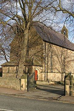 St Mary the Virgin Church, Throckley - geograph.org.uk - 103956.jpg