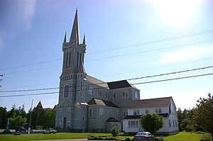 Pointe-de-l'Église, Nova Scotia - Sainte-Marie's Church