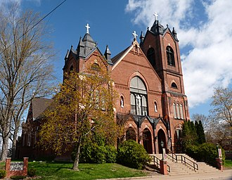 St. Patrick's Church (Eau Claire, Wisconsin) - Image: St Patricks Church Eau Claire