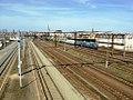 Stacja Szczecin Port Centralny-widok z kładki w kier. Szczecina Głównego.jpg