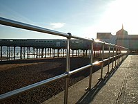 Stainless Steel Railings and the Pier, Teignmouth - geograph.org.uk - 646827.jpg