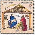 Stamp Germany 2003 MiNr2370 Die Heilige Familie.jpg
