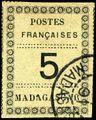 Stamp Madagascar 1891 5c.jpg