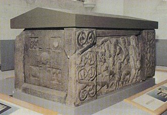 St Andrews Sarcophagus - The St Andrews Sarcophagus.
