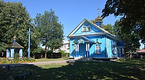 Stara Vyzhva Transfiguration Church (wooden) 01 (YDS 5547).jpg