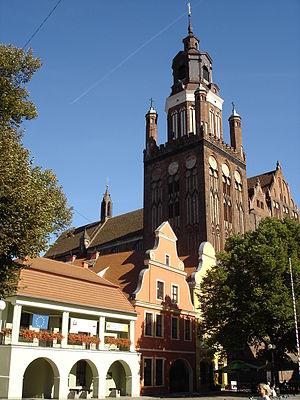 St. Mary's Church, Stargard - Image: Stargard Rynek 2