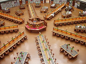 Helen Garner - Garner wrote most of Monkey Grip in the Latrobe Reading Room of the State Library of Victoria in the mid 1970s.