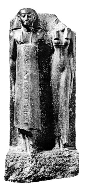 Useramen - Useramen and his wife Tuiu, from Karnak.
