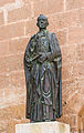 Statue blessed bishop Diego Ventaja Milan, Almeria, Spain.jpg