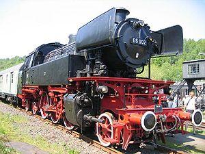 DB Class 66 - Image: Steamtrain DB 66002 2
