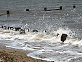 Steel sheet pilings and derelict groyne - geograph.org.uk - 799654.jpg