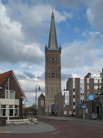 Steenwijk - Image: Steenwijk, de Grote of Sint Clementuskerk RM34576+34577 foto 1 2013 04 28 18,18