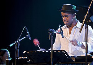 Stefon Harris - Harris at the North Sea Jazz Festival in 2007