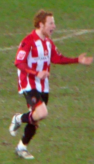 Stephen Quinn - Quinn playing for Sheffield United in 2010