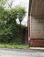 Steps by the motorway - geograph.org.uk - 795454.jpg