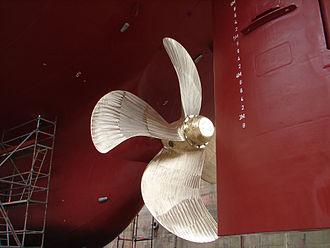 Fin - Ship propeller