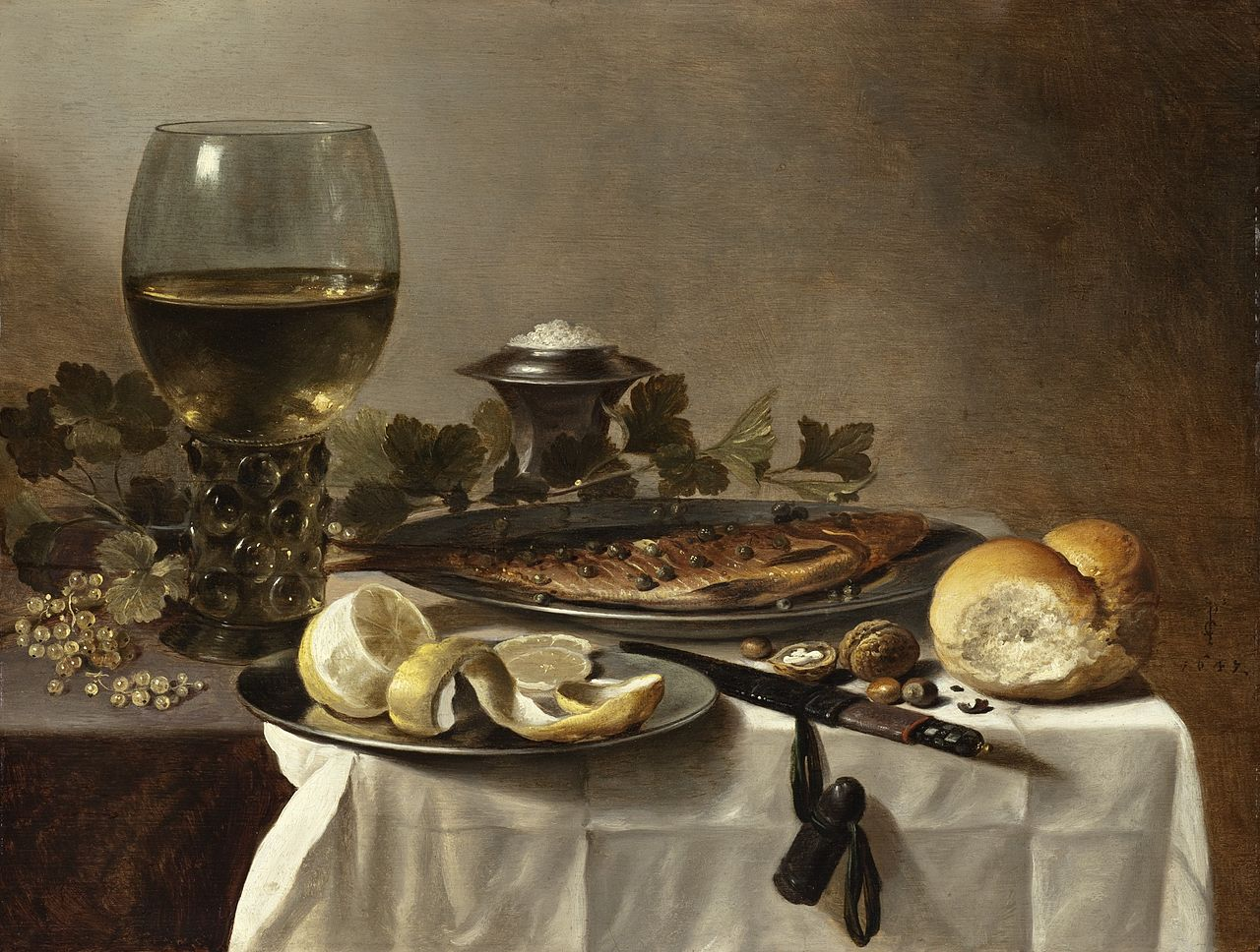 File:Still Life with Herring, Wine and Bread LACMA M.2009.106.19 (1 of 2).jpg - Wikimedia Commons