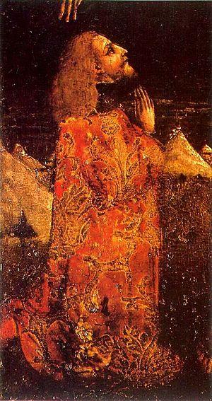 Catherine of Bosnia - King Stephen Tomašević