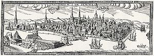 1637 in Sweden - Stockholmspanorama 1637