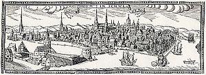 1637 in Sweden - Stockholmspanorama 1637