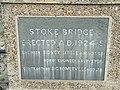 Stoke bridge plaque - geograph.org.uk - 634642.jpg