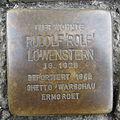 Stolperstein Herford Bügelstraße 5 Rudolf Löwenstern.JPG