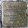 Stolperstein Lynarstr 9 (Grune) Peter Bendix.jpg