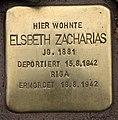 Stolperstein Pariser Str 11 (Wilmd) Elsbeth Zacharias.jpg