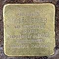 Stolperstein Sächsische Str 9 (Wilmd) Rosa Hepner.jpg