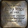 Stolperstein Salzburg, Elvira Posch - Linzer Gasse 26.jpg