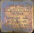 Stolperstein Salzburg, Ludwig Kiesler (Kaigasse 20).jpg