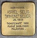 Stolperstein für Asriel Silber 2018 (Graz).jpg