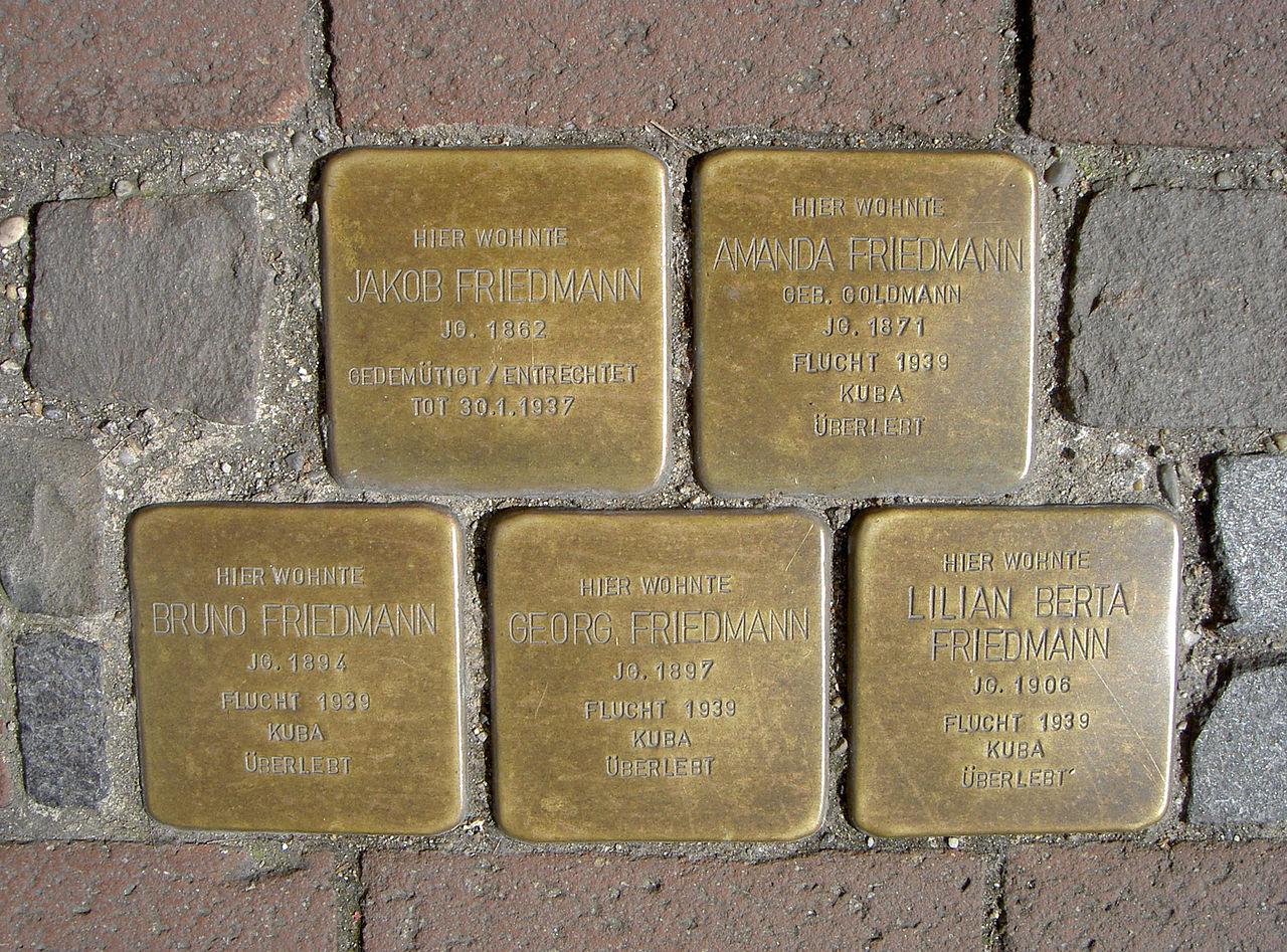 StolpersteineSchwandorfFriedmann.JPG