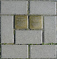 Stolpersteine Köln, Brüsseler Straße 104..jpg