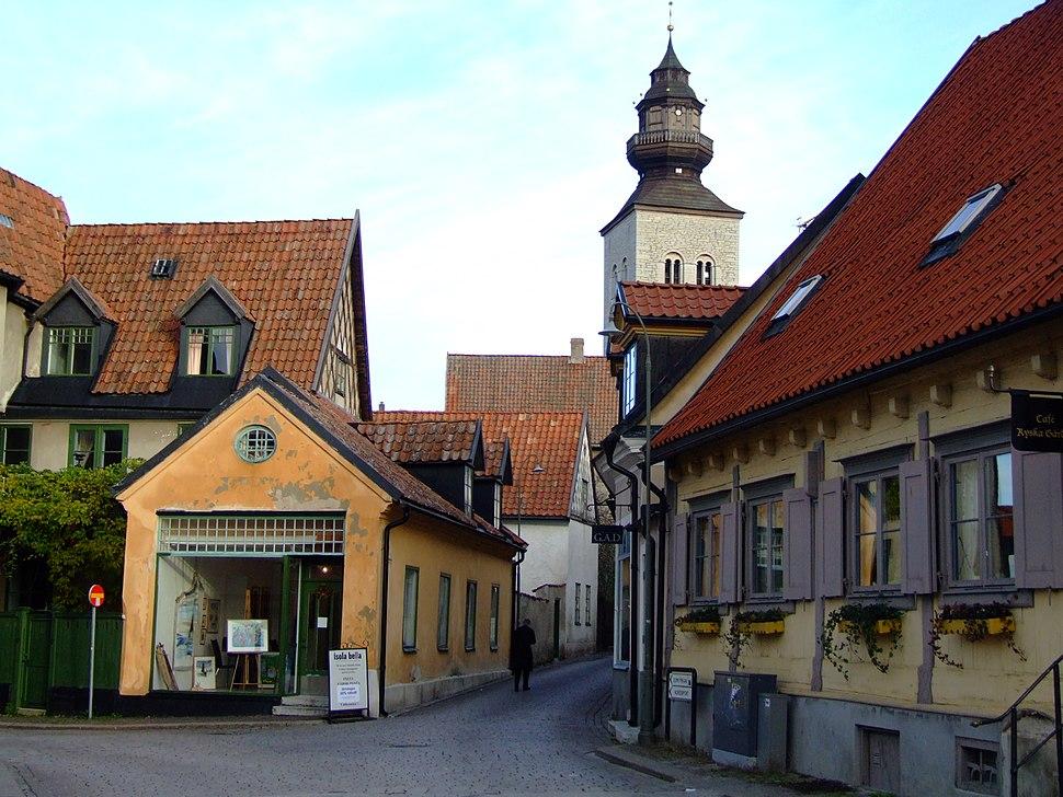 Stora Torget och Södra Kyrkogatan, Visby