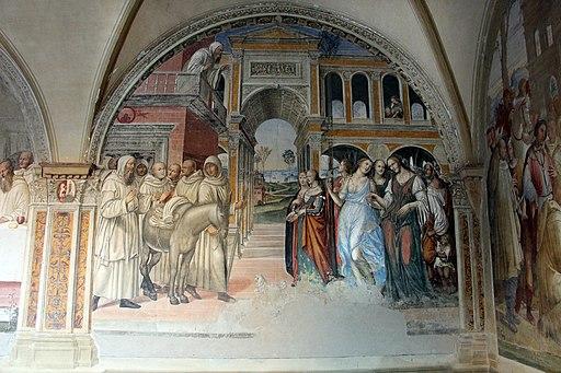 Il Sodoma, Come Florenzo manda male femmine al monastero