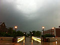 Storm at Illinois State University Over College Avenue Bridge.jpg