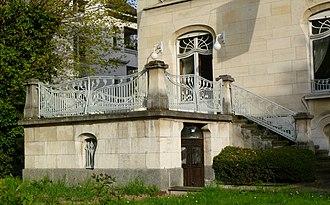 Villa Schutzenberger - Image: Strasbourg villa Schutzenberger 2014 (2)