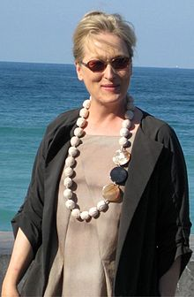 Meryl Streep by die 56e Internasionale Film Fees in San Sebastian