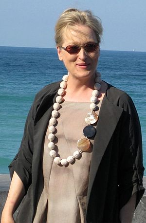 English: Meryl Streep on the 56th Internationa...