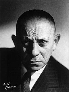Erich von Stroheim Austrian-American actor and director