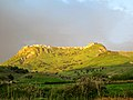 Strongoli in the late afternoon, seen from SP 16 road. Calabria, Italy - panoramio.jpg