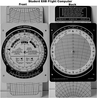 Flight computer - Image: Student E6BFlight Computer