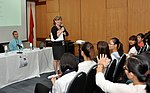 Students join the 'USAID and Higher Education in Vietnam' talk (8202383170).jpg