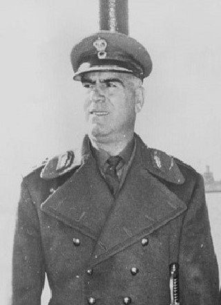 Stylianos Pattakos Greek soldier and participant in the 1967–1974 junta