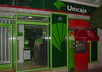 Unicaja banco wikipedia la enciclopedia libre for Unicaja banco oficinas