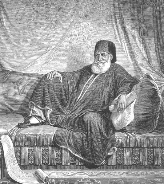 معلومة محمد باشا: انتهج مبدأ