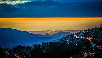Baguio - Sunset in Baguio
