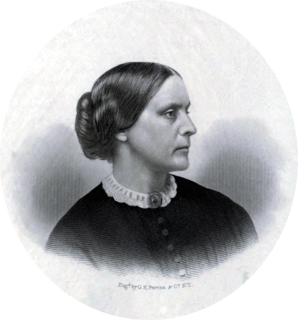 Susan B. Anthony 19th and 20th-century American womens rights activist
