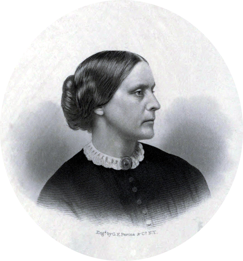 Susan B. Anthony, ca. 1855 (